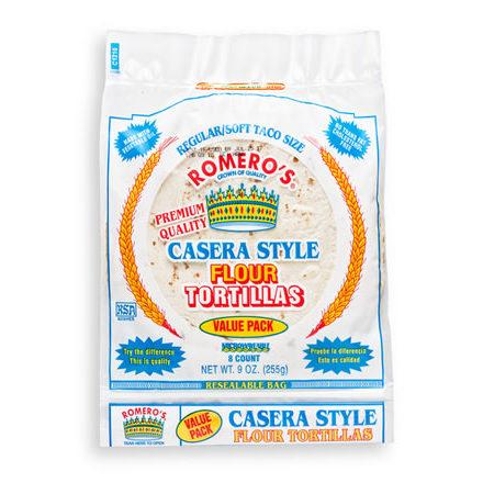 Casera Style Totillas