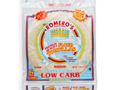 Premium Low Carb Tortillas