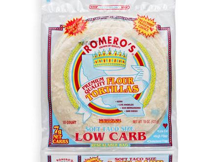 Premium Low Carb Tortillas