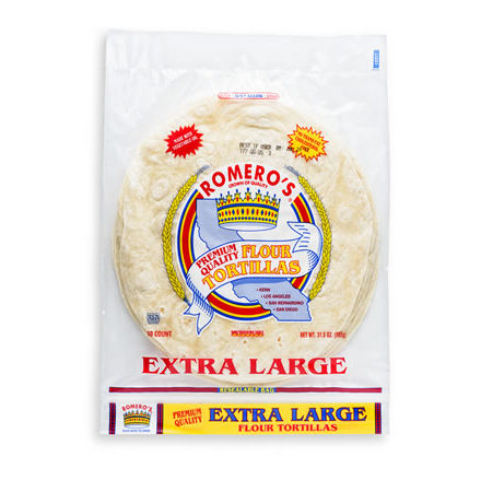Whole Grain CornTortillas ExtraLarge450